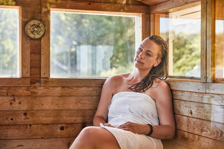 Beneficios de tomar sauna